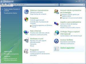 Pannello di Controllo di Windows